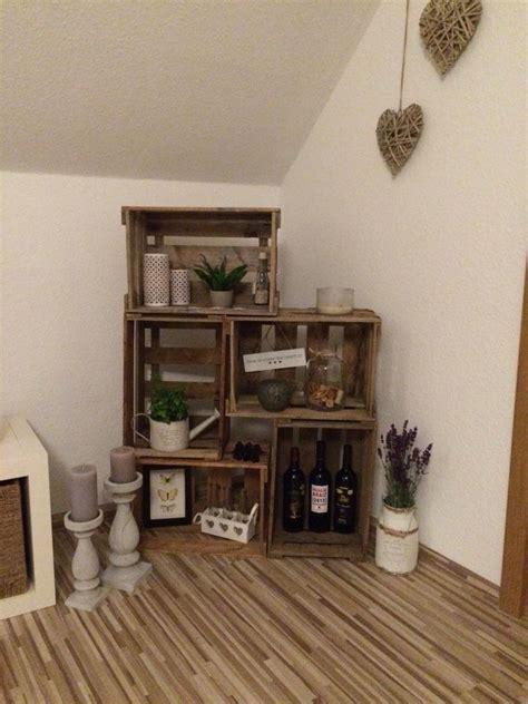 regal aus obstkisten regal aus weinkisten diy room wood box shelves box shelves und wine box shelves