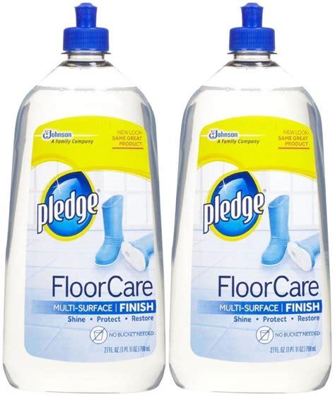 Pledge Floor Care Finish Uk by Pledge With Future Shine Floor Cleaner 800ml 2 Pk Brand