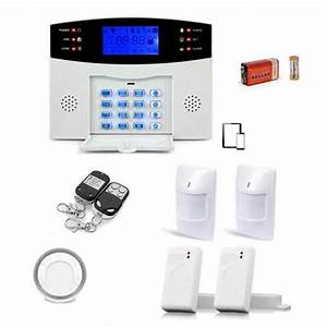 alarme maison sans fil gsm pour une securite a moindre prix With prix d une alarme maison