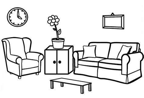 Coloring Living Room best living room ideas coloring page