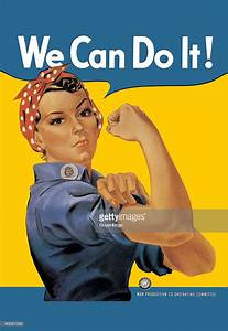 We Can Do It!, an American wartime propaganda poster ...
