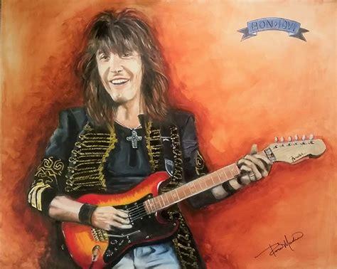 Commissioned Paint Portrait Richie Sambora