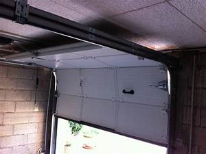 installation de porte de garage sectionnelle isolee a With installation porte garage