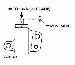 2003 Mitsubishi Lancer Serpentine Belt Routing And Timing