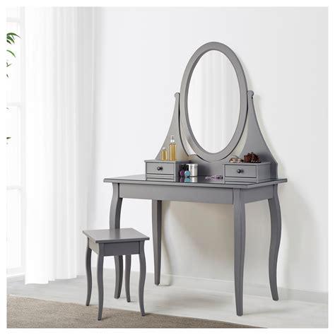 ikea dressing table mirror hemnes dressing table with mirror grey 100x50 cm ikea
