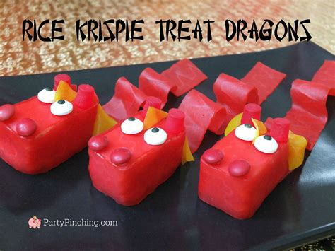 Top Halloween Candy 2016 by Rice Krispie Dragon Treats For Chinese Lunar New Year Easy