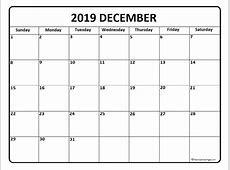 December 2019 calendar 56+ calendar templates of 2019