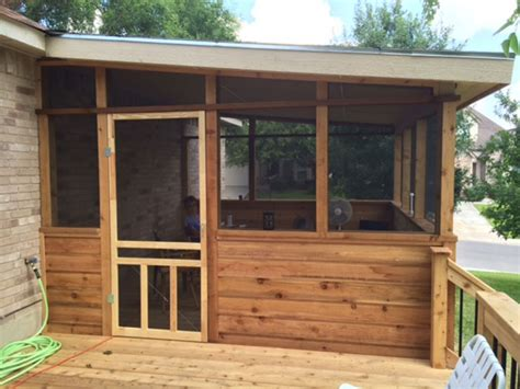 screened in porch doors custom patio enclosures in san antonio tx j r s custom