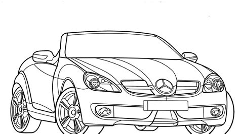 2010 Mercedes-benz Dtm Coloring Pages Download