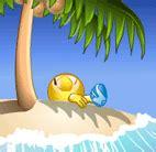 island emoticon lustige smileys smiley bilder und smileys