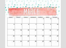 2018 Monthly Printable Templates Calendar 2018