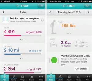 fitbit app for iphone fitbit flex review slashgear