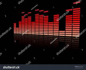 Vector Illustration Of Full Color Classical 3d Equalizer ...