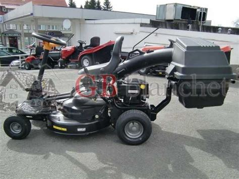 tracteur tondeuse rider mowcart 66 mcculloch bac arriere