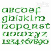 Irish Celtic Embroidery Font Irish Celtic Alphabet Letters Celtic Alphabet Cross Stitch Celtic Stencils From The Stencil Library Buy From Our 1000 Images About Celtic Fonts On Pinterest Celtic
