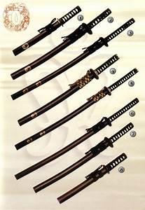 Katana  Tanto Y Wakizashi  Espadas Orientales De Toledo  Espadas Samurai