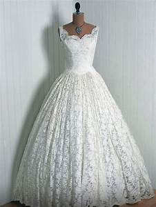 beautiful 195039s wedding dress my style pinterest With 1950s wedding dresses