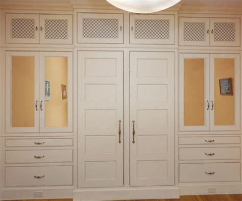 custom built in master closet in washington dc