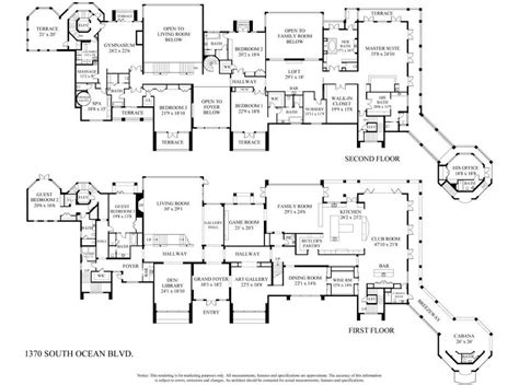 million newly listed  square foot oceanfront mega mansion  manalapan fl homes