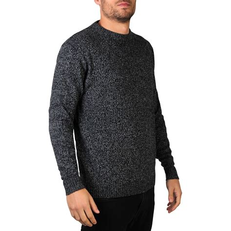 warm sweaters mens wool knitted crew neck warm jumper sweater