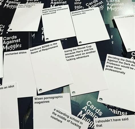 It is full of hilarity just like the original version. 'Cards Against Muggles' download, buy, review: A party must-have | Muggle, Cards against ...