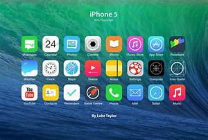 iOS 7 Icon Set Redesign | luke and jules