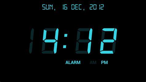 Digital Clock Wallpaper by Digital Alarm Clock Appstore For Android