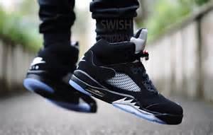 Air Jordan 5 Metallic On Feet