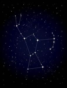 Royalty Free Orion Constellation Clip Art, Vector Images ...