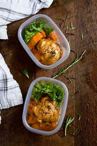 Slow Cooker Chicken and Sweet Potato (Meal Prep