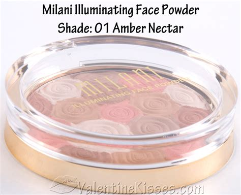 valentine kisses milani illuminating face powder