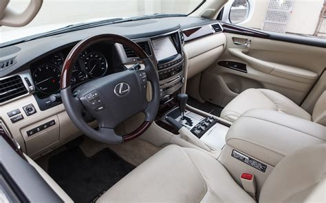 lexus lx  interior colors