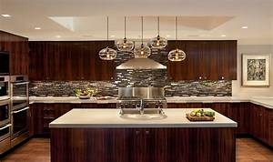 blown-glass-pendant-lights-Living-Room-Modern-with-bench