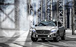 2013 Mercedes Benz GLA Concept Wallpaper HD Car