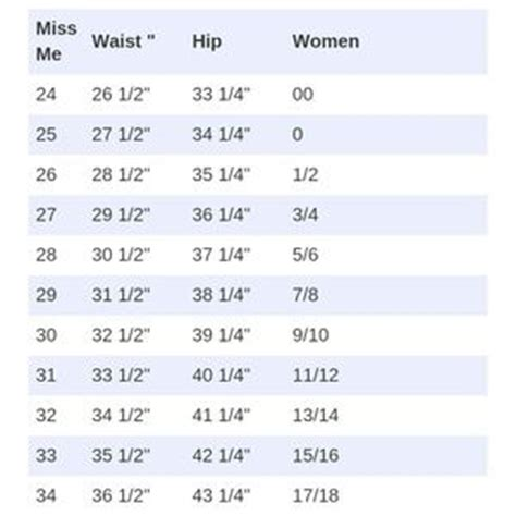 related keywords suggestions  mossimo size chart