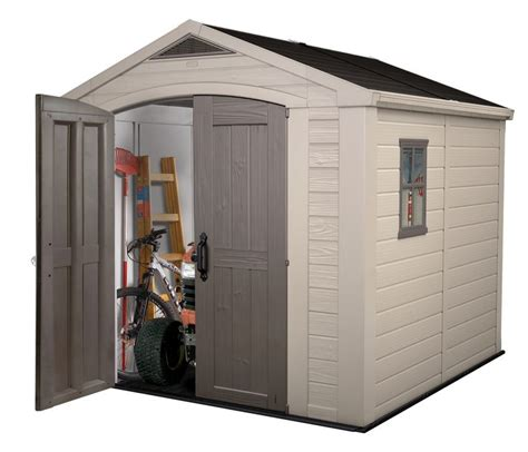 keter storage shed hinges not just a shed a storage solution the factor 8x8 shed