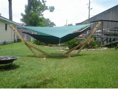 4 Pole Hammock by 15 Diy Hammock Stand To Build This Summer Home And