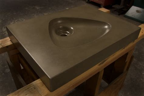 Mid Century Modern Bathroom Sinks mid century modern atomic clarendon concrete sink by