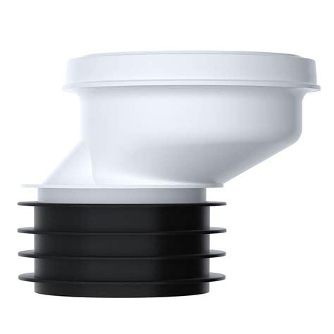 viva wc toilet 40mm offset pan connector soil 4 quot 100mm