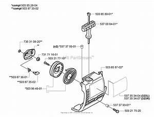 Husqvarna 323 L Parts Diagram For Starter
