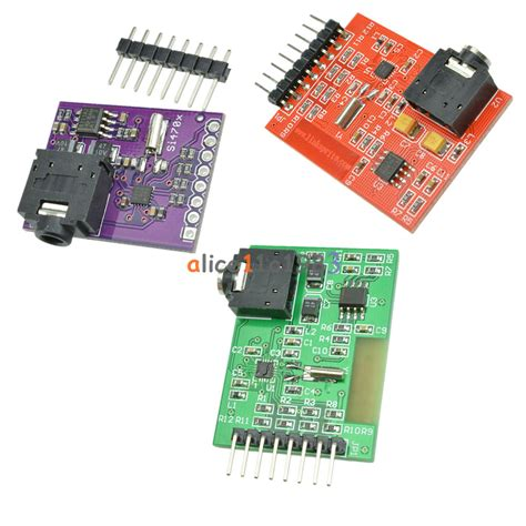 si4703 evaluation breakout rds fm radio tuner board for