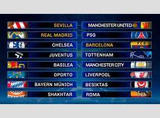 Sorteo Champions League 201718 Un sorteo de miedo ¡Real