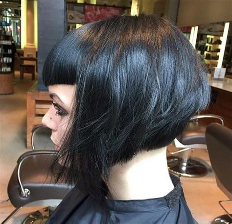 beautiful  classy graduated bob haircuts