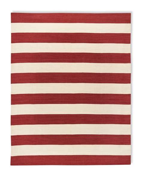 Stripe Outdoor Rug by Patio Stripe Indoor Outdoor Rug Coral Williams Sonoma