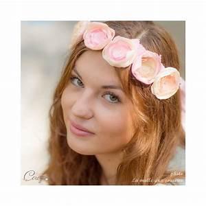 Couronne De Fleurs Mariée : couronne mari e bijou de coiffure poudr fleurs ~ Farleysfitness.com Idées de Décoration