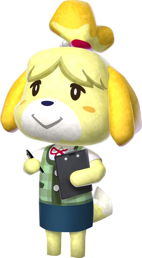 Isabelle   Animal Crossing Wiki