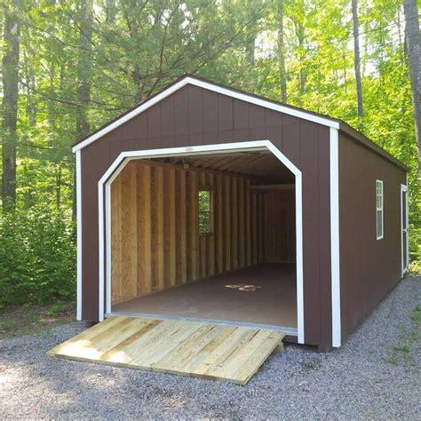 12x24 Carport by 12 X 24 Portable Garage Prefab Storage Buildings