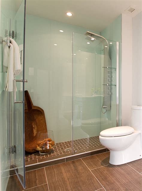 shower surrounds high gloss acrylic wall panels back painted glass