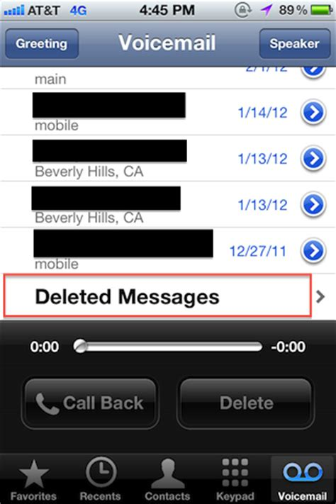 how to check voicemail on iphone how to recover deleted voicemail from iphone 4s ask