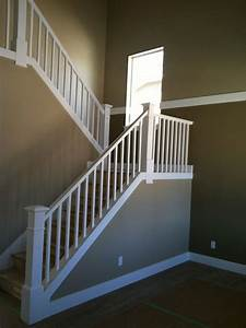 square white stair balusters - Google Search Home